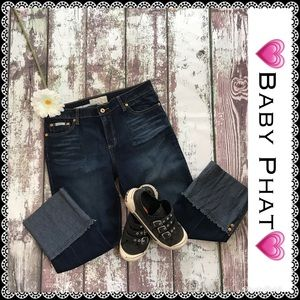 Baby Phat crop jeans, size 11